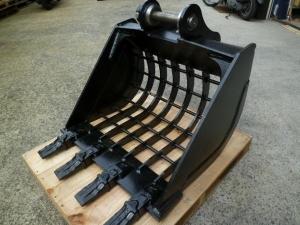 小型ショベル用スケルトンバケット